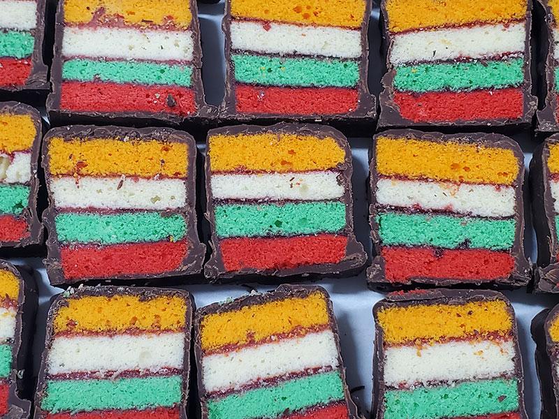 Rainbow Marzipan